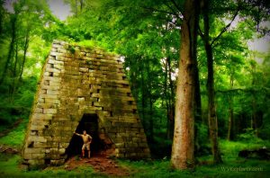 Henry Clay Iron Furnace, Coopers Rock State Forest, Monongalia County, Monongahela Valley Region