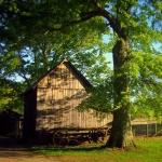Barn at Jackson's Mill near Weston, WV, Lewis County, Monongahela Valley Region