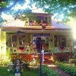 July Fourth House at Alderson, WV, Greenbrier County, Greenbrier Valley Region