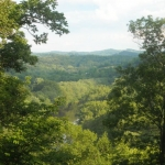 Little Kanawha Valley near Cherry, WV, Wirt County, Heartland Region