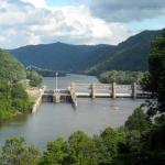 London Lock on Kanawha River, Handley, WV, Kanawha County, Metro Valley Region