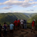 Main Overlook at Grandview, New River Gorge National River, New River Gorge Region