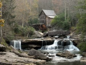 Gristmill at Babcock State Park, Clifftop, WV, Fayette County, New River Gorge Region