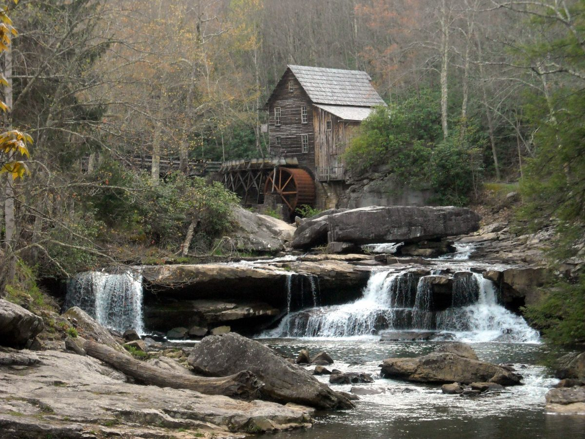Gristmill at Babcock State Park