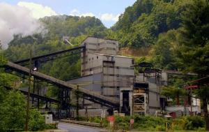 Coal mine at Wyoming, WV, Wyoming County, Hatfield & McCoy Region