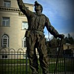 Miners' Monument at Madison, WV, Boone County, Hatfield & McCoy Region