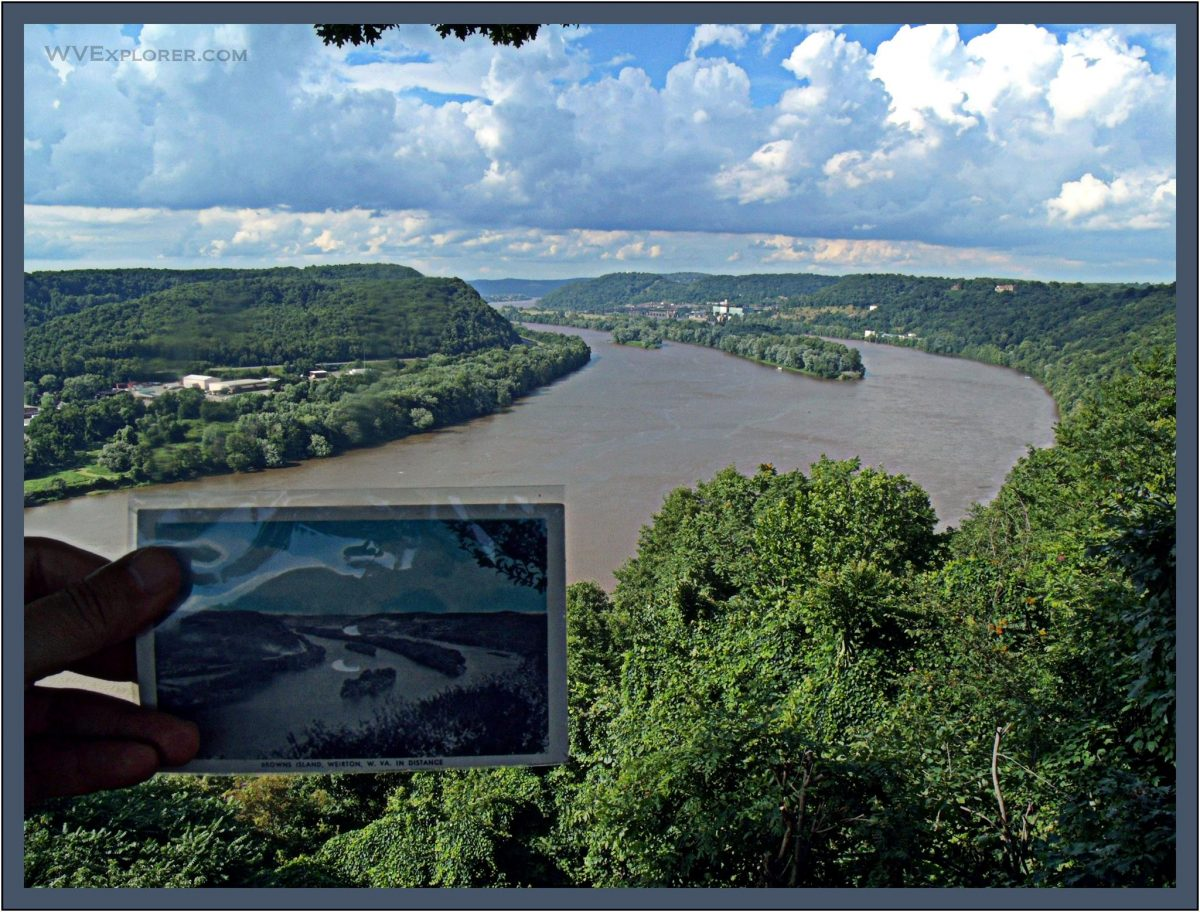 Missing isle in Ohio River