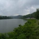 Monongahela River at Rivesville, West Virginia, Marion County, Monongahela Valley Region
