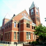 Monongalia County Court House, Morgantown, WV, Monongahela Valley Region