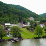 Kanawha waterfront at Montgomery, WV, Kanawha County, Metro Valley Region