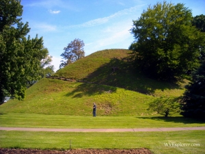 Grave Creek Mound at Moundsville, WV, Marshall County, Northern Panhandle Region