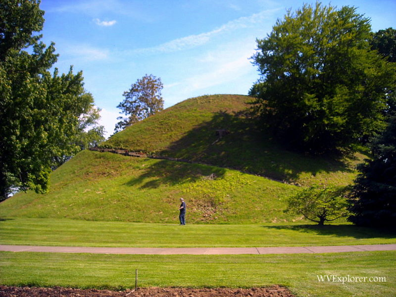 Grave Creek Mound at Moundsville