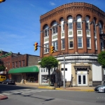 Downtown Moundsville, West Virginia, Marshall County, Northern Panhandle Region