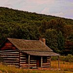 Nancy Hanks Birthplace near New Creek, WV, Mineral County, Potomac Branches Region