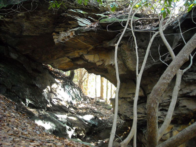 Arch at Babcock State Park