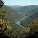 New River near Grandview, New River Gorge National River, New River Gorge Region