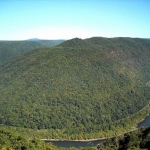 Great Bend in the New River, New River Gorge National River, New River Gorge Region