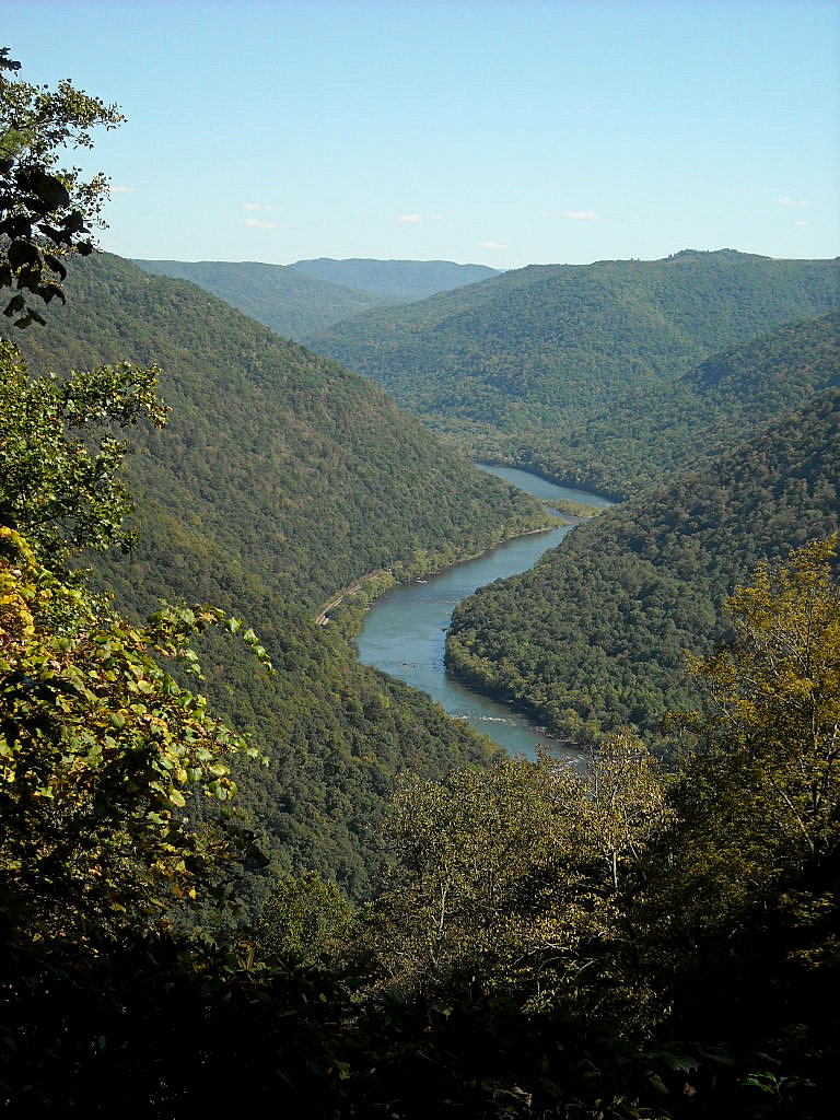 New River valley near Grandview
