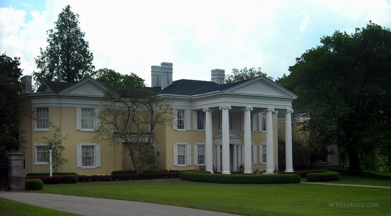 Oglebay mansion at Oglebay Park
