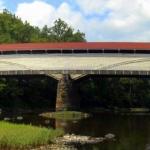 Covered bridge at Philippi