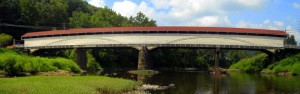 Philippi Covered Bridge, Philippi, West Virginia, Barbour County, Monongahela Valley Region