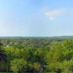 Panorama of Pleasants County, WV, Mid-Ohio Valley Region