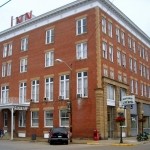 Lowe Hotel at Point Pleasant, WV, Mason County, Mid-Ohio Valley Region