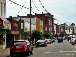 Main Street, Point Pleasant, West Virginia, Mason County, Mid-Ohio Valley Region