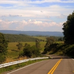 Highway near Aurora, WV, Preston County, Allegheny Highlands Region