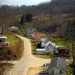 Main Street, Pullman, WV, Ritchie County, Heartland Region