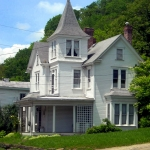 Queen Anne home at Worthington, WV, Marion County, Monongalia Valley Region