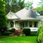 Queen Anne residence at Alderson, WV, Greenbrier County, Greenbrier Valley Region