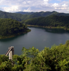 R.D. Bailey Lake, Gilbert WV, Wyoming County, Hatfield & McCoy Region