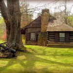 Cabin at Ritter Park, Huntington, WV, Cabell County, Metro Valley Region