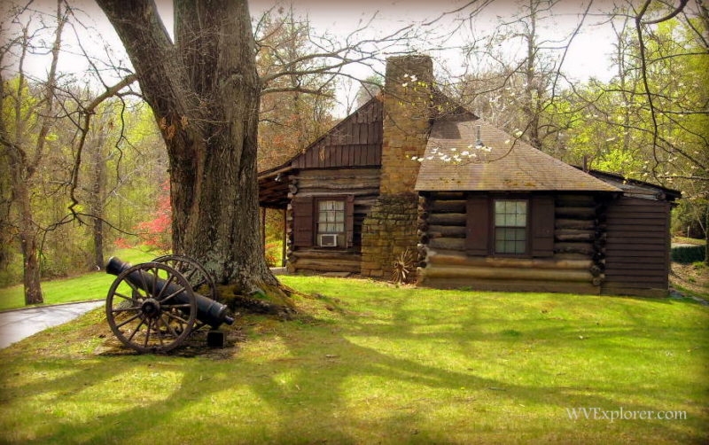 Cabin restored at Ritter Park