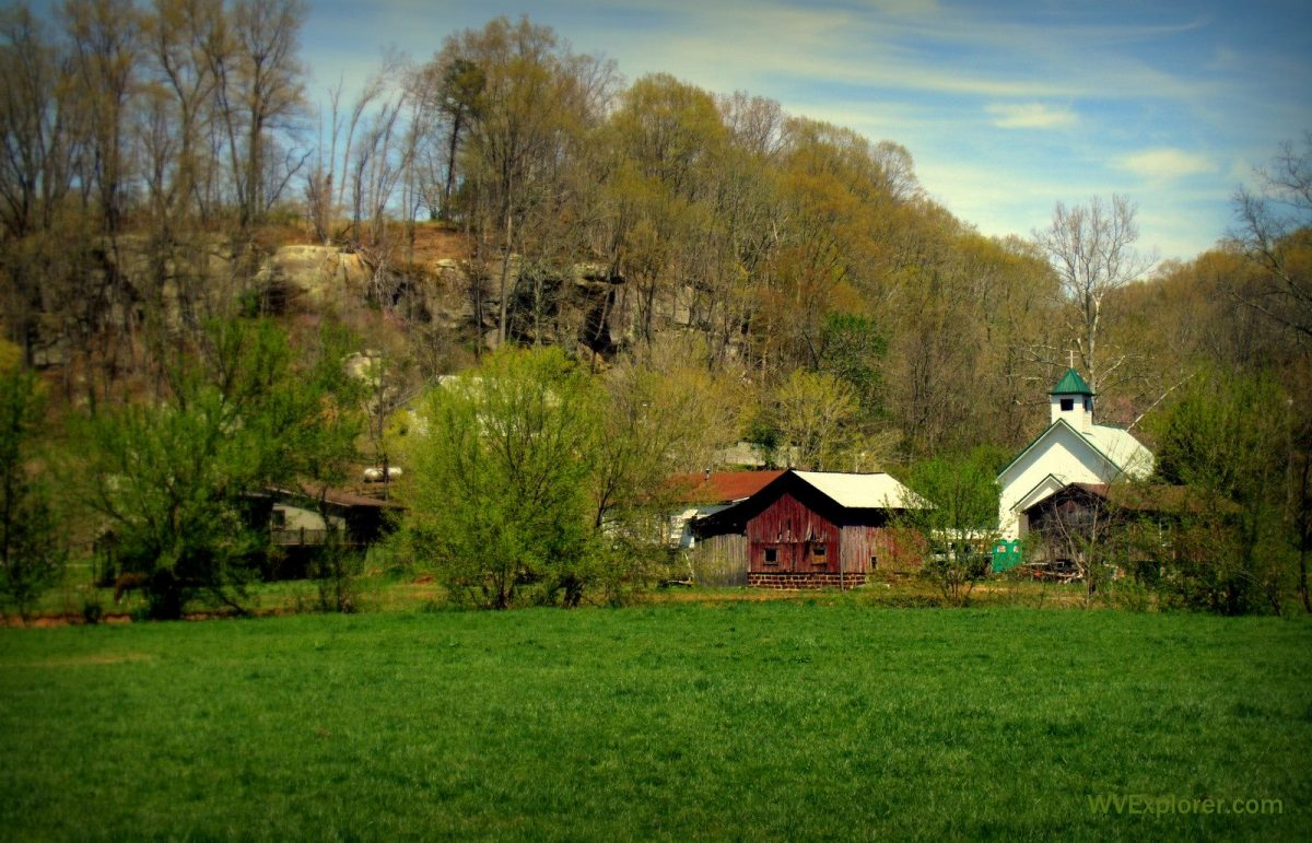 Farmstead near Duncan, WV, Jackson County, Mid-Ohio Valley Region