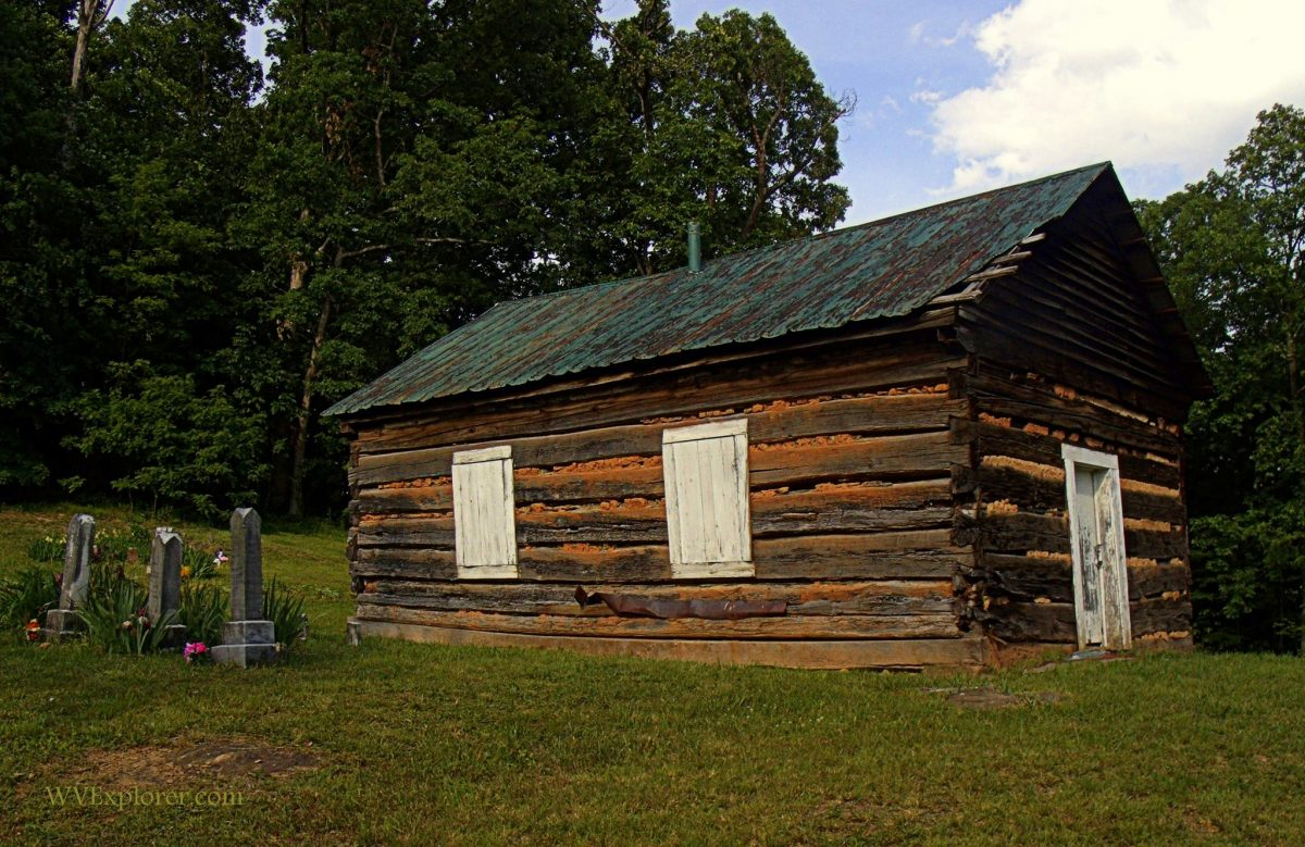 Ruble Church near Burning Springs