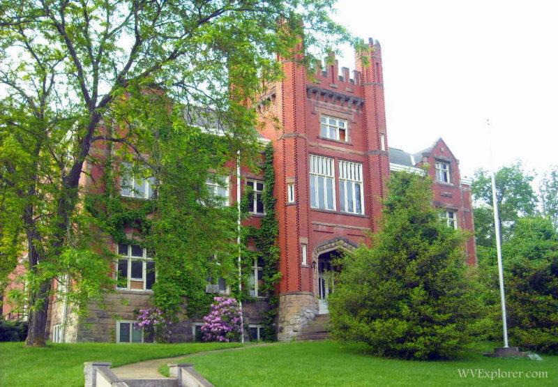 Old main at Salem University