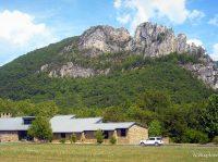 Seneca Rocks Visitor Center, Seneca Rocks, WV, Pendleton County, Potomac Branches Region