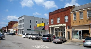 Main Street in Milton, WV, Cabell County, Metro Valley Region