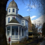 Victorian homes in Sistersville, WV, Tyler County, Mid-Ohio Valley Region