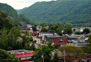 Kanawha Valley at Smithers, West Virginia, Fayette County, New River Gorge Region