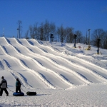 Snow tubing park at Winterplace Ski Resort, Ghent, WV, Raleigh County, New River Gorge Region