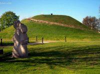 South Charleston Mound at South Charleston, WV, Kanawha County, Metro Valley Region