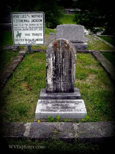 Grave of Julia Jackson, Ansted, WV, Fayette County, New River Gorge Region