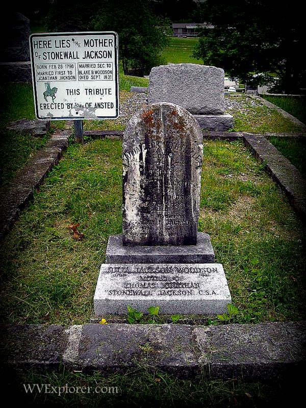 Grave of Julia Neale Jackson