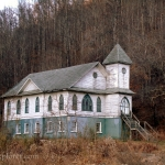 Old church at Tams, WV, Raleigh County, Hatfield & McCoy Region