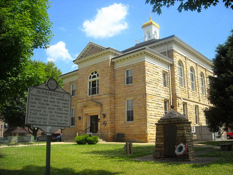 Nicholas County Court House