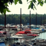 Marina at Summersville Lake near Summersville, WV, Nicholas County, New River Gorge Region
