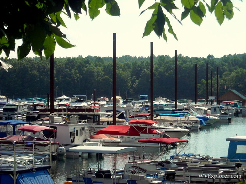 Marina at Summersville Lake